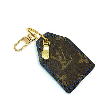 READY-TO-SHIP Upcycled LV Keychain with Original Hardware