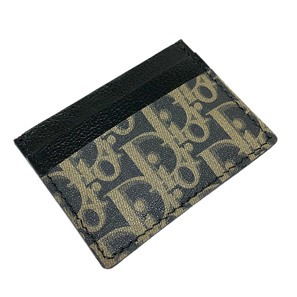 Made-to-Order Authentic Upcycled C. Dior Card Holder
