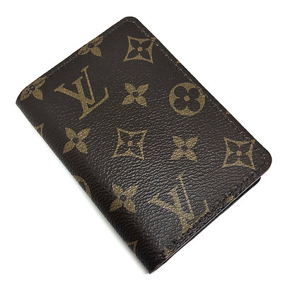READY-TO-SHIP Upcycled LV Gentlemen's Wallet