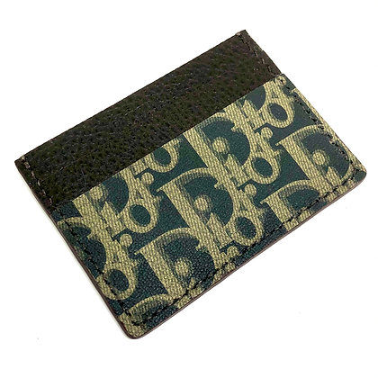 READY-TO-SHIP Authentic Upcycled C.Dior Card Holder
