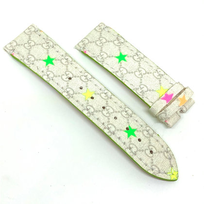 READY-TO-SHIP UPCYCLED GG Multistar Apple/Samsung Watch Straps