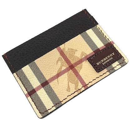 READY-TO-SHIP Authentic Upcycled Vintage Burberry Card Holder