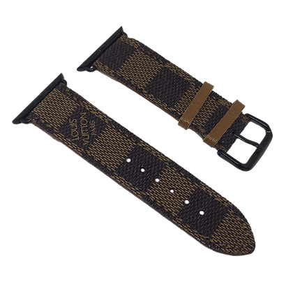 Made-to-Order Upcycled D. Ebene Watch Straps