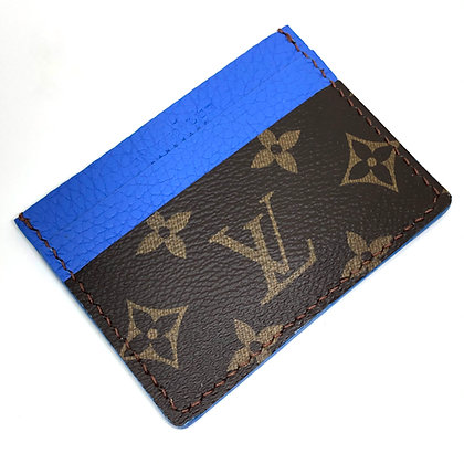 READY-TO-SHIP Upcycled LV Card Holder
