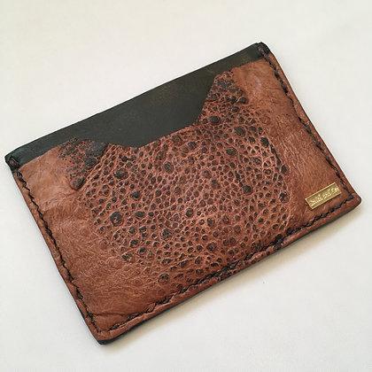Brown Cane Toad Minimalist Wallet
