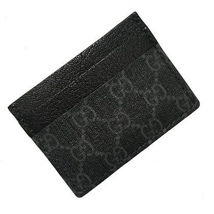 Made-to-Order Upcycled Black Gucci Card Holder