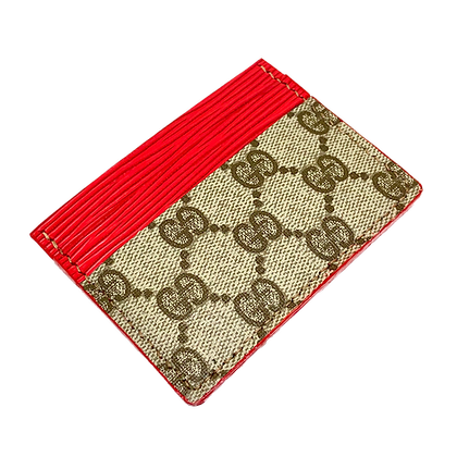 Made-to-Order Authentic Upcycled Traditional Gucci Card Holder