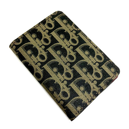 READY-TO-SHIP Upcycled Christian Dior Gentlemen's Wallet