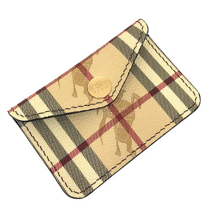 READY-TO-SHIP Vintage BB Snap Card Holder