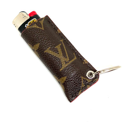 READY-TO-SHIP Upcycled LV Lighter Sleeve