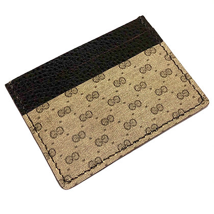 READY-TO-SHIP Upcycled 1970s Gucci Hard Holder