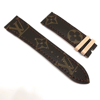 READY-TO-SHIP Upcycled LV Apple/Samsung Watch Straps