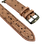 Thumbnail: Made-to-Order Genuine Brown Ostrich Watch Straps