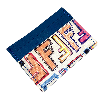 Customizable Authentic Upcycled Vintage Fendi Card Holder