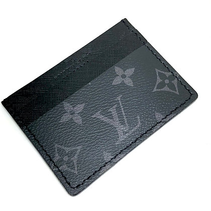 READY-TO-SHIP Upcycled LV Eclipse Card Holder
