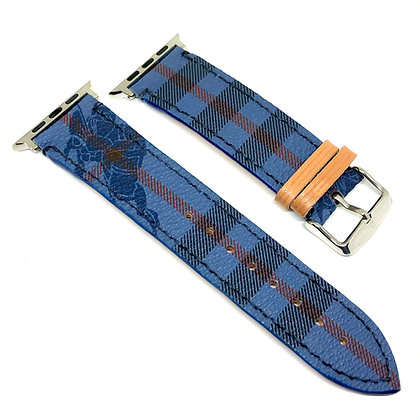 Made-to-Order Authentic Upcycled Blue BB Watch Straps