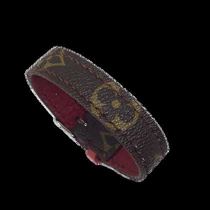 Made-to-Order Upcycled LV Bracelet