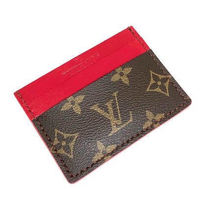 READY-TO-SHIP Authentic Upcycled LV Card Holder
