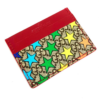 READY-TO-SHIP Authentic Upcycled Gucci Multistar Card Holder