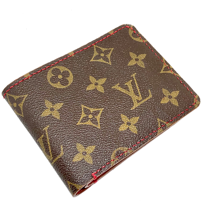 Made-to-Order Authentic Upcycled LV Traditional Bifold Wallet