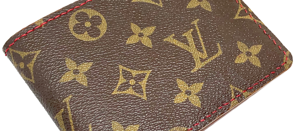 Customizable Authentic Upcycled LV Traditional Bifold Wallet