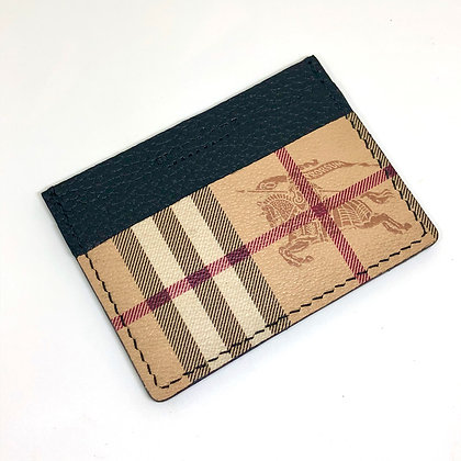 READY-TO-SHIP Authentic Upcycled Vintage Classic Burberry Card Holder