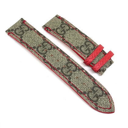 READY-TO-SHIP Red Trim GG Apple Watch Straps