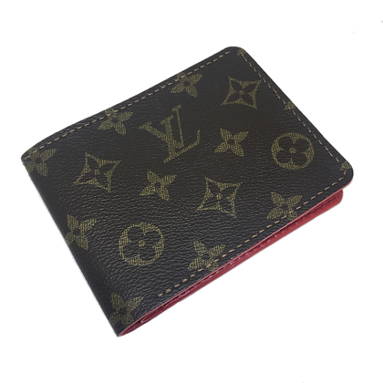 Authentic Recycled LV Bi-Fold Wallet