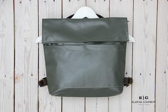 תיק גב ירוק