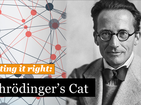 Did Schrödinger think that a cat can be dead and alive at the same time?