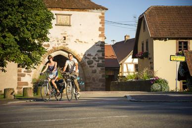 Porte de Dachstein et sa piste Cyclable