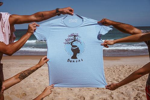 [2019] Camiseta Bonsai Árvore Azul