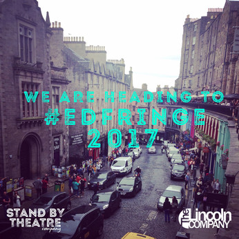 We are going to #EdFringe 2017!