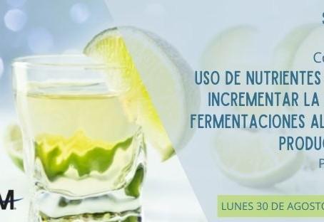 Conferencia Virtual: Uso de Nutrientes Orgánicos en Fermentaciones Alcohólicas