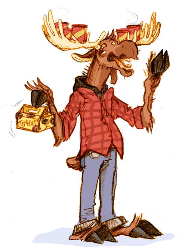 Mel the Moose