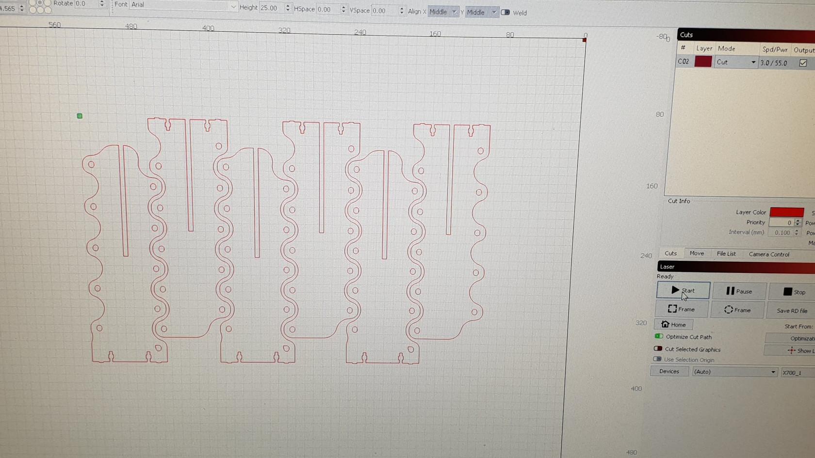 Planning Laser Cutting