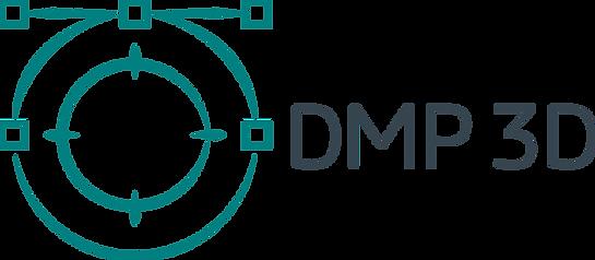 DMP 3D Logo - V2 with text (No back grou