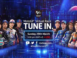 Le MotoGP en virtuel, c'est aujourd'hui à 15h !