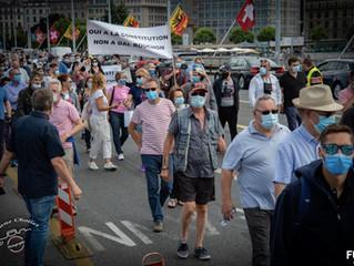 Oui à la Constitution, non à Dal Bouchon – Retour sur la manifestation
