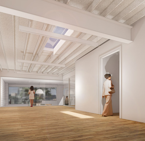 210412 - 3073 Peachtree - Second level tenant - view towards Bolling way entry.jpg