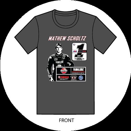 LIMITED EDITION 2017 Yamalube/Westby Racing Mathew Scholtz Champion T-Shirts