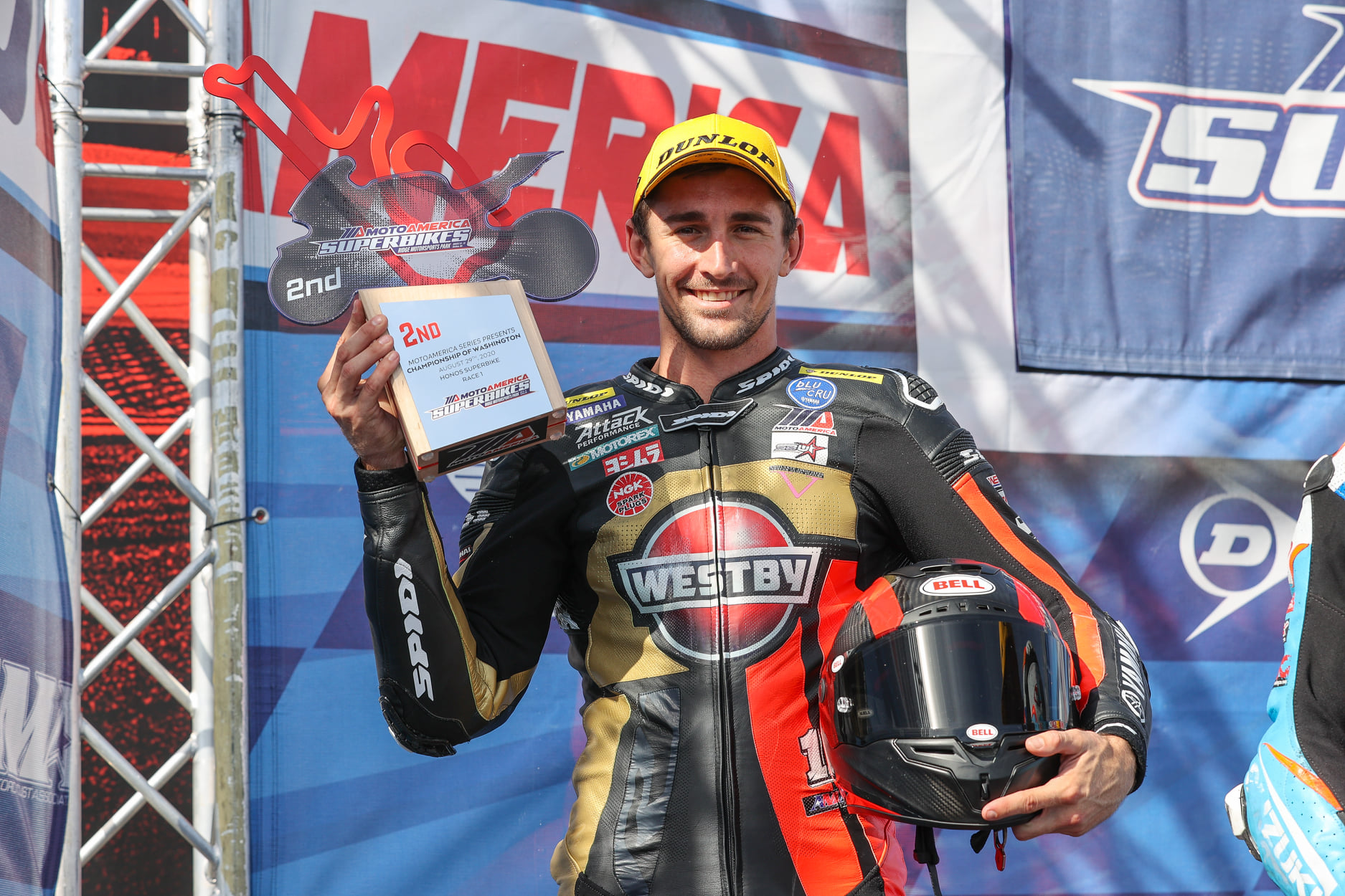 "Westby Racing's ""Quick Study"" Mathew Scholtz Is Runner-Up In MotoAmerica's First-Ever Superbike Race"