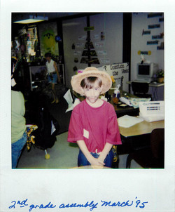 Dane 2nd Grade Assembly March 1995