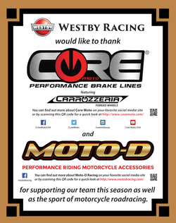 Core Moto and Moto-D Racing, as feat