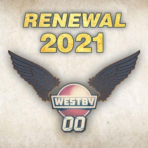 Wing Warrior Membership RENEWAL - Previous Membership Required