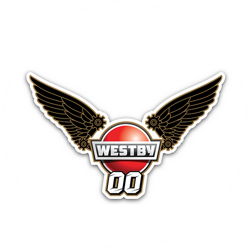 Wing Warrior Westby Racing Sticker
