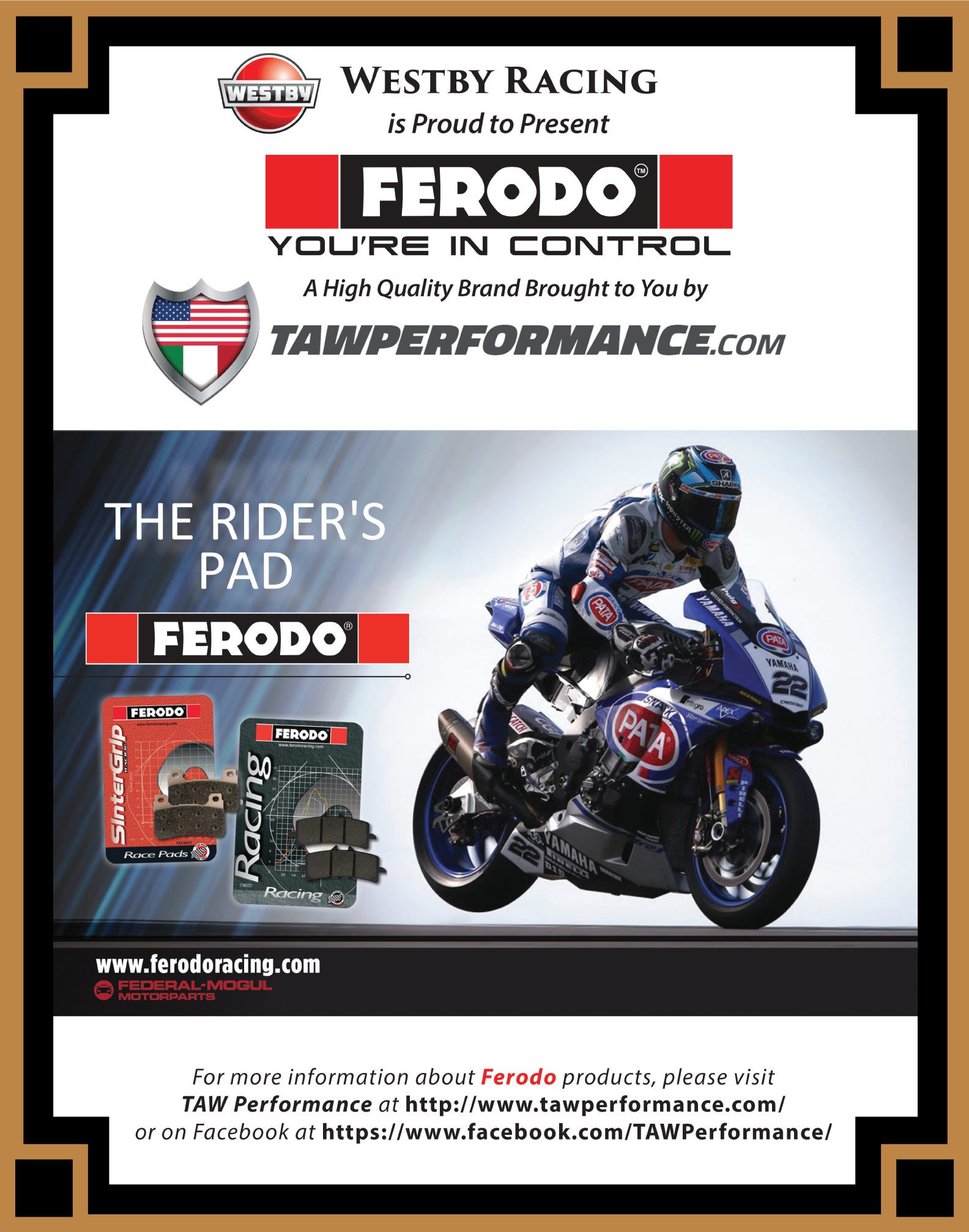 TAW Performance featuring Ferodo