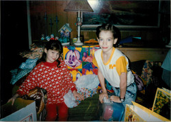 Dane and scarlett younger with gifts