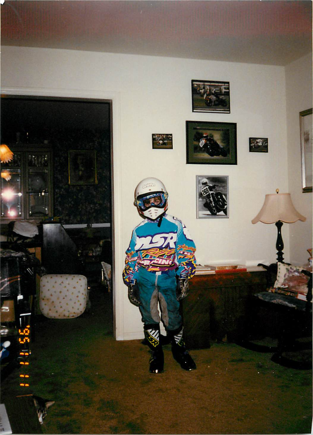 Dane 1995 in leathers