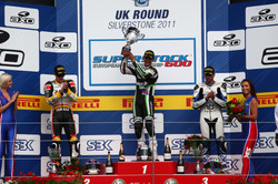 Josh Day 2011 Silverstone FIM Superstock 600 Race Winner